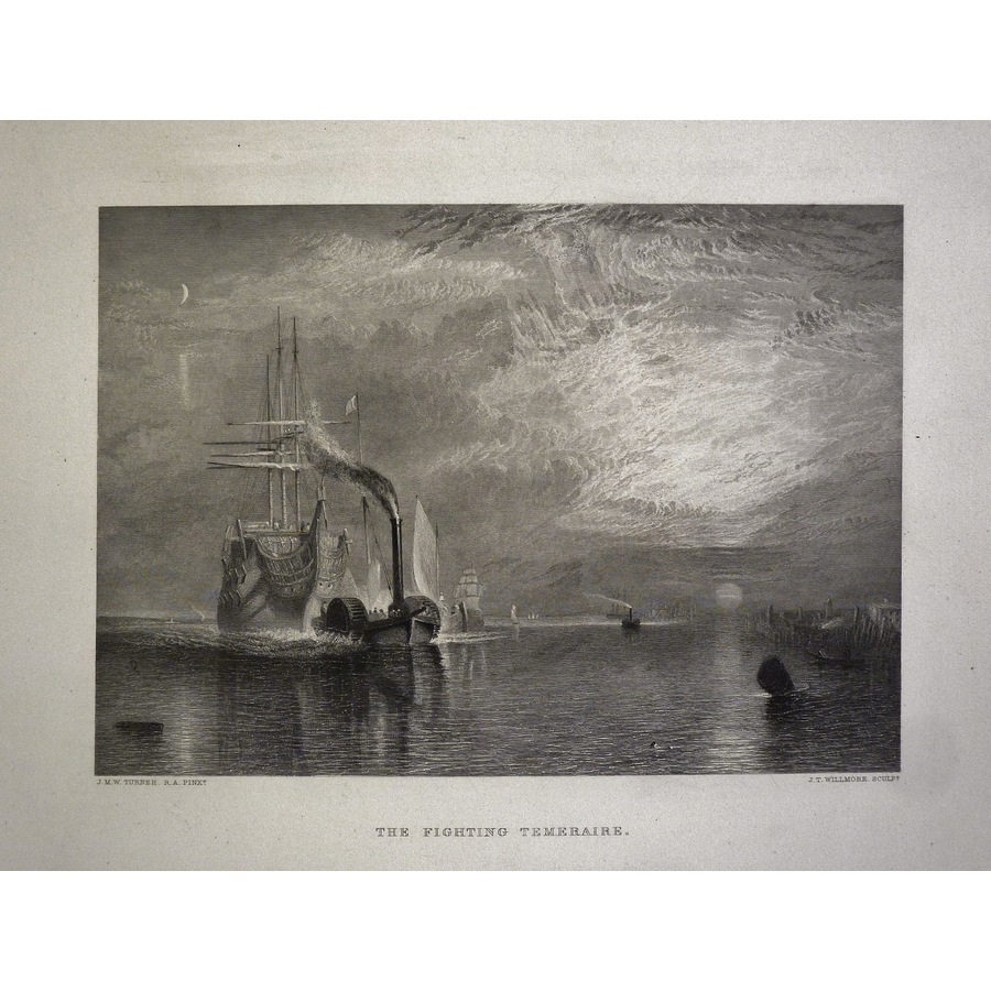 The fighting temeraire   Storey's