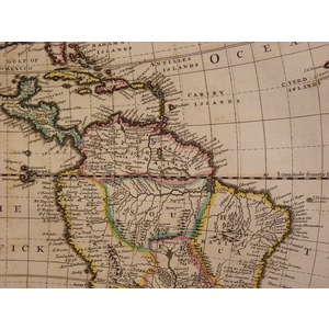 A new map of america from the. | Storey's