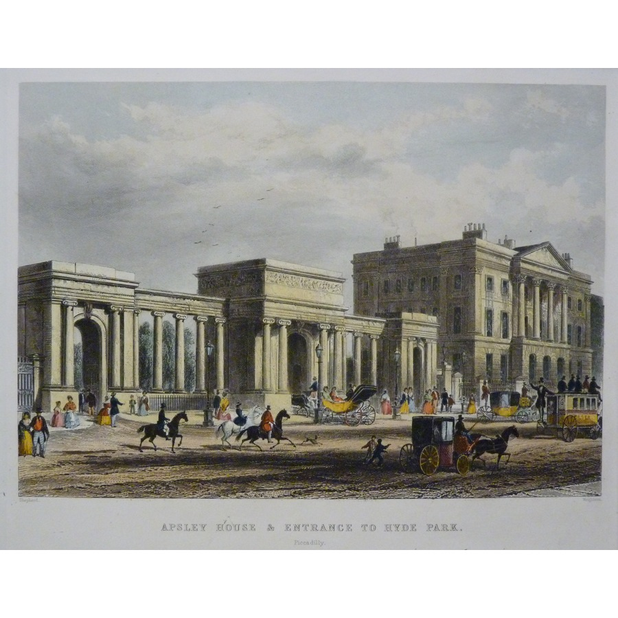 Apsley House & Entrance to Hy.   Storey's