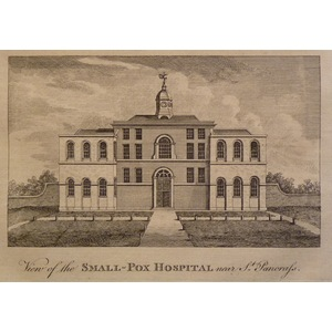 View of the small-pox hospital near st. Pancras