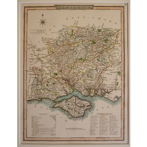 Hampshire - nightingale, 1816
