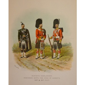 Seaforth highlanders (ross-shire buffs, the duke of albanys) (72nd & 78th foot)