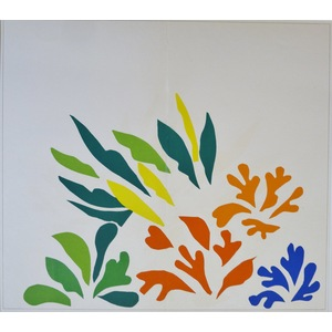 Matisse , Henri - Acanthus. Original lithograph published in 1958 by Teriade for Verve Magazine.