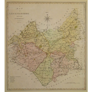 Leicestershire - j. Cary - 1797