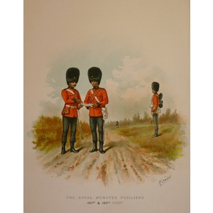 The royal munster fusiliers (101st & 104th foot)