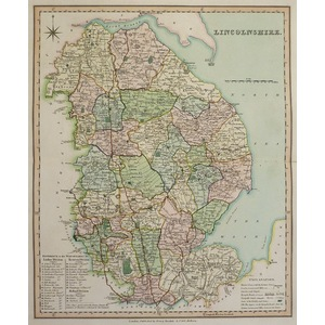 Lincolnshire - teesdale, 1851