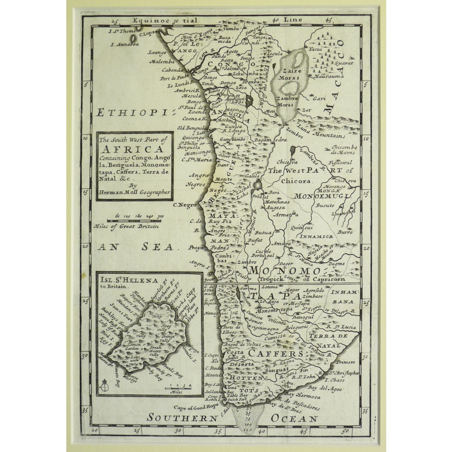 The south west part of africa.   Storey's