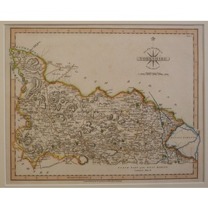 Yorkshire, part of the west riding of (set of 2) - cary, 1793