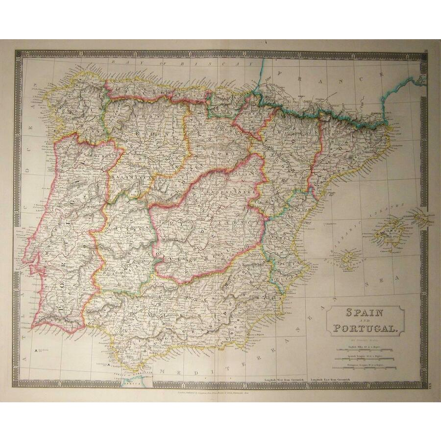 Spain and portugal - sidney h.   Storey's