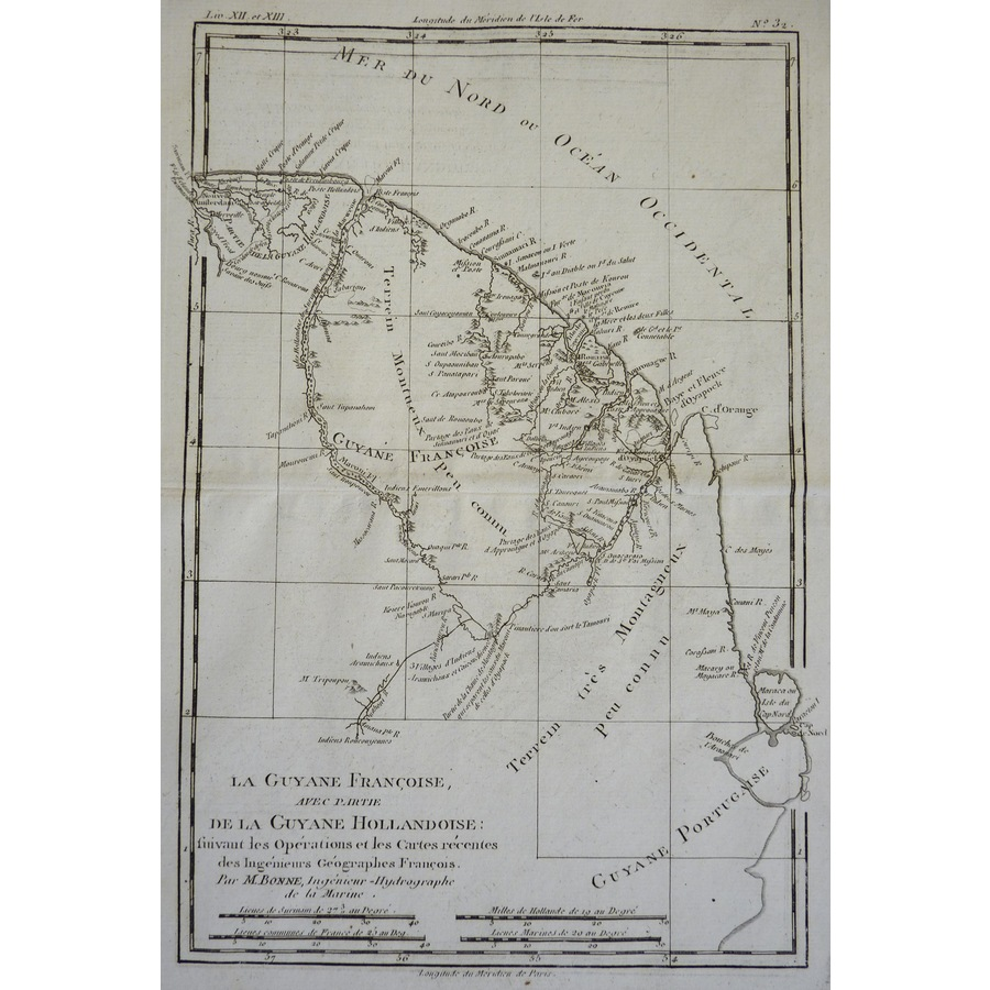 French Guyana with part of Du.   Storey's