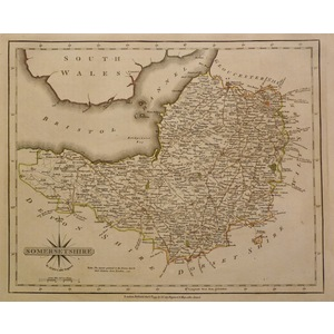 Somersetshire - cary 1793