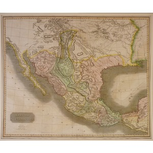 Spanish north america (mexico) - thomson, 1814