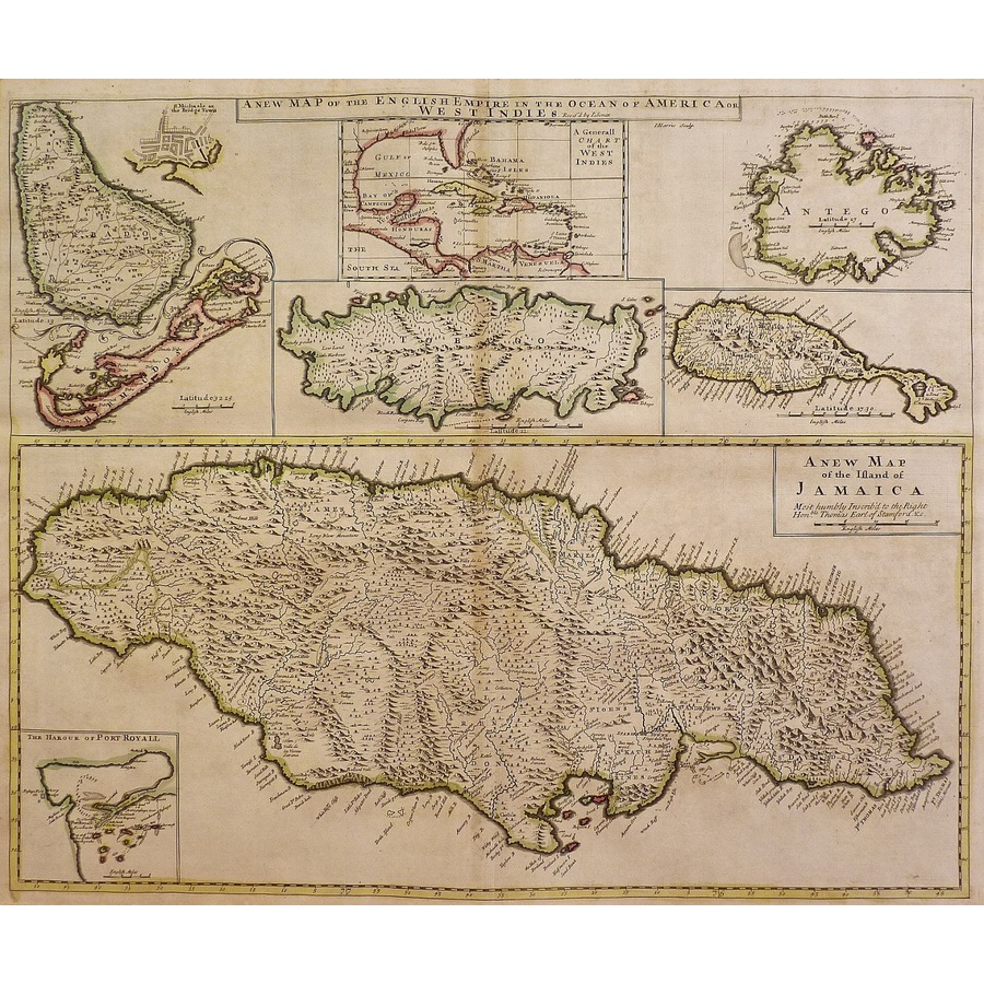 A new map of the island of ja. | Storey's
