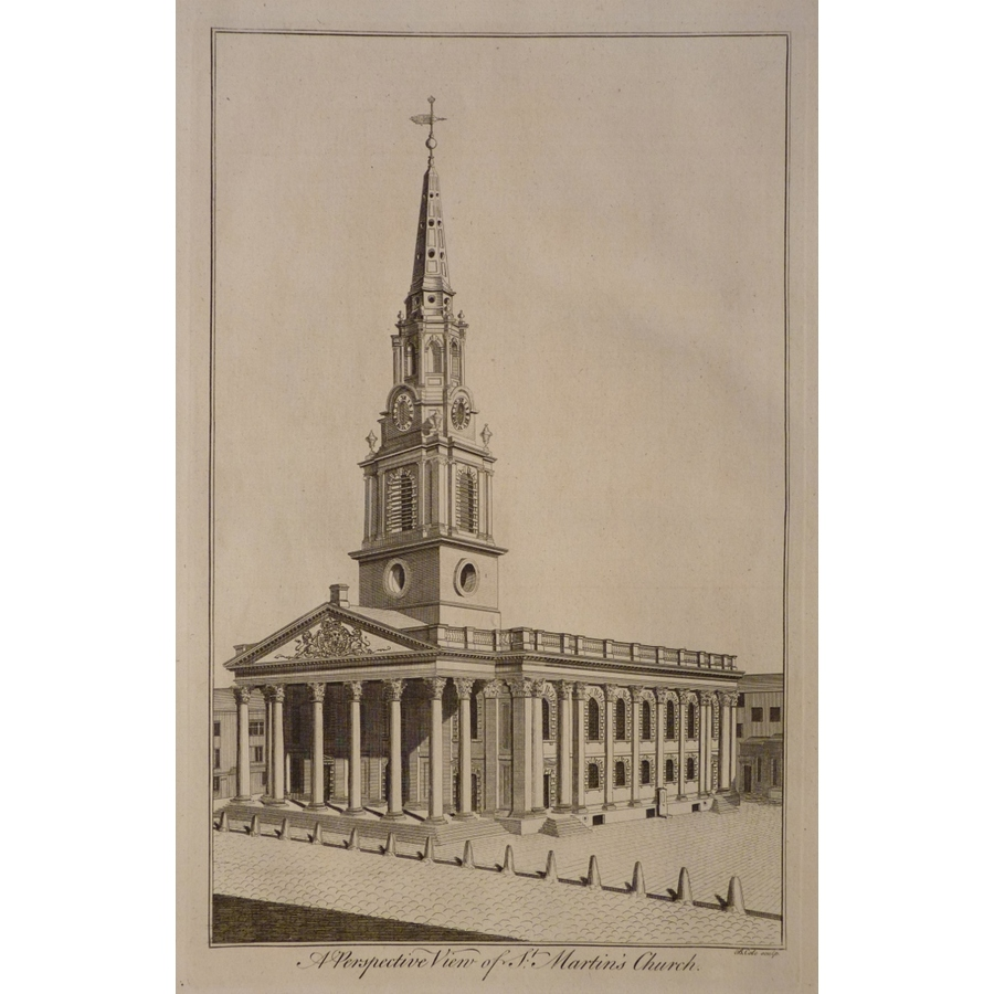 A perspective view of st. Mar. | Storey's