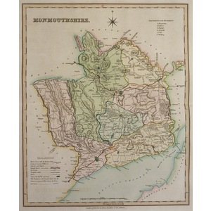 Monmouthshire - teesdale, 1834