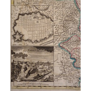 A new map of savoy and piedmont - j. Senex, 1721