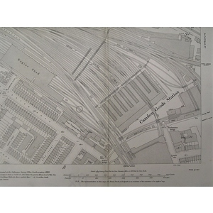 Camden goods station with surrounding streets - edition of 1894-96