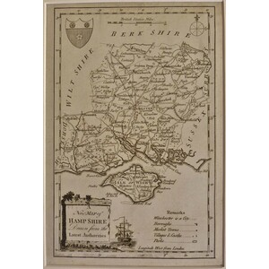 A new map of hampshire