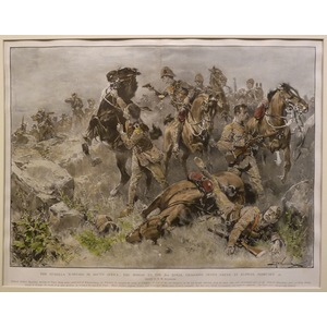 The guerilla warfare in south africa: the mishap to the 2nd royal dragoons (scots greys) at klipp...