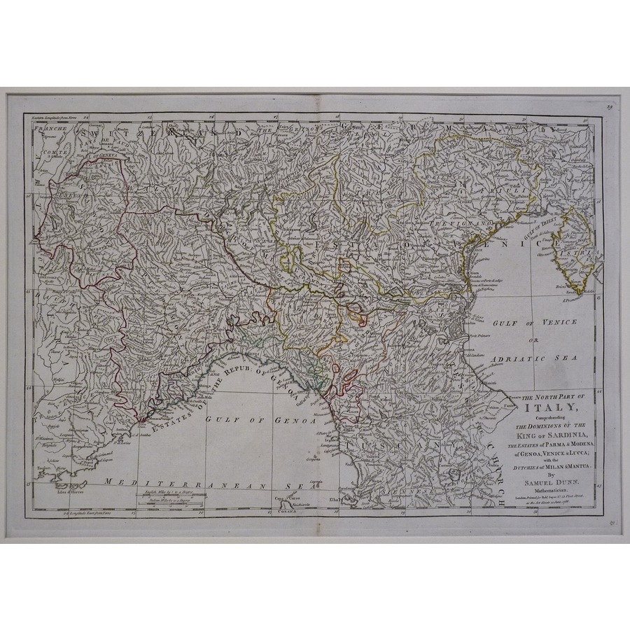 The north part of italy | Storey's