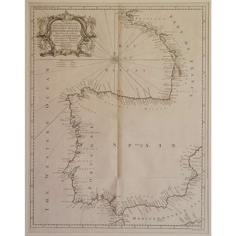 A correct chart of the bay of. | Storey's