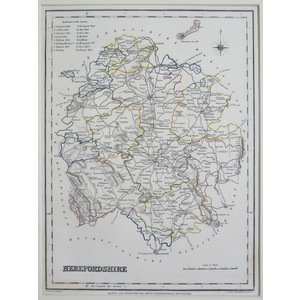 Herefordshire - lewis, 1848
