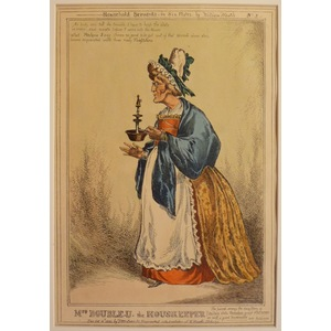 Mrs doubleu the housekeeper - household servants, plate no. 3