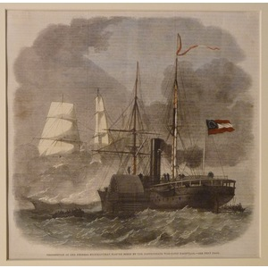 Destruction of the federal merchantman harvey birch by the confederate war-sloop nashville