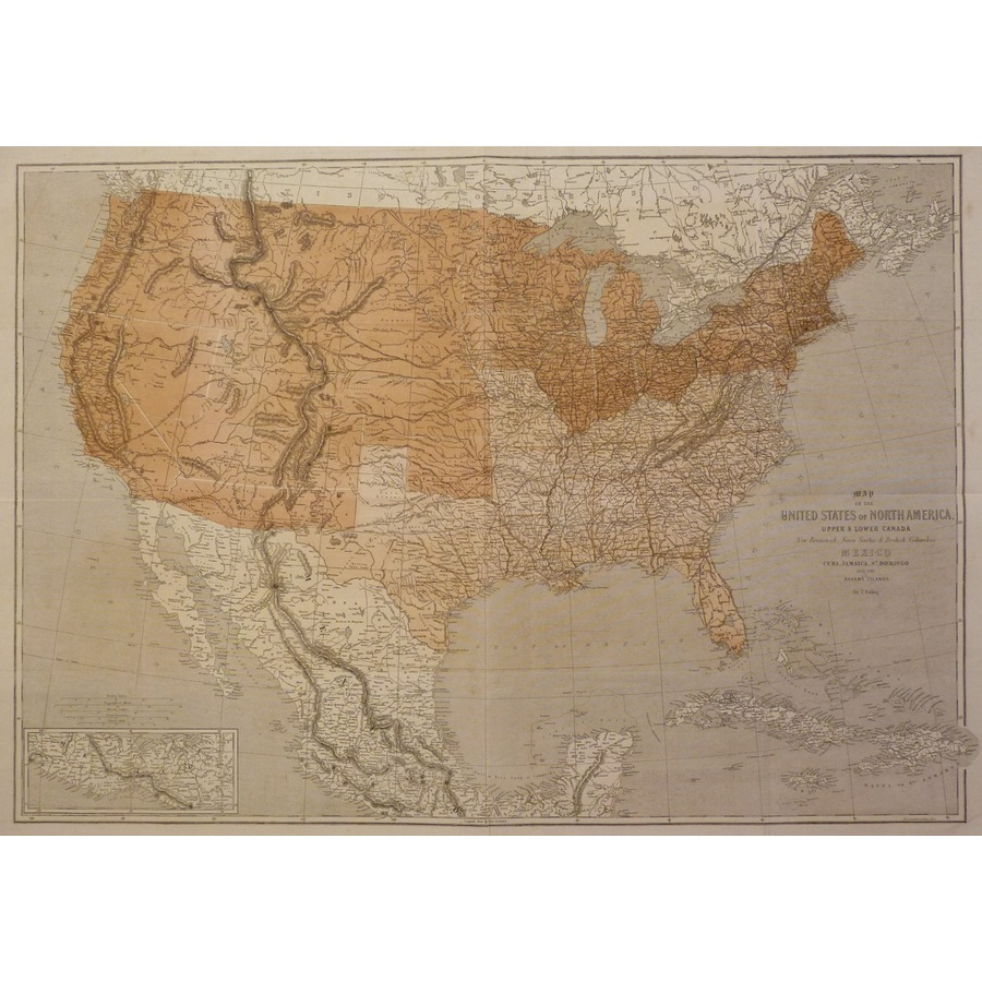 Map of the united states of n. | Storey's