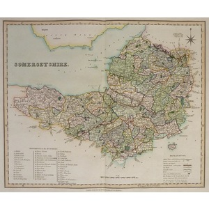 Somersetshire - teesdale, 1851