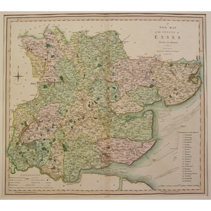 A new map of the county of essex
