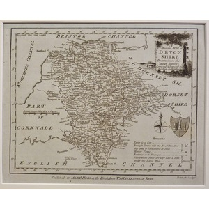 A new map of devonshire