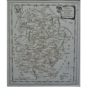 A new map of bedfordshire