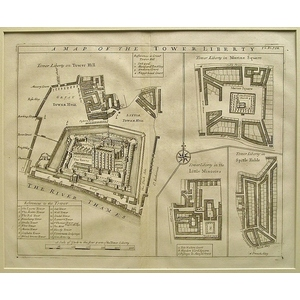 A map of the tower liberty