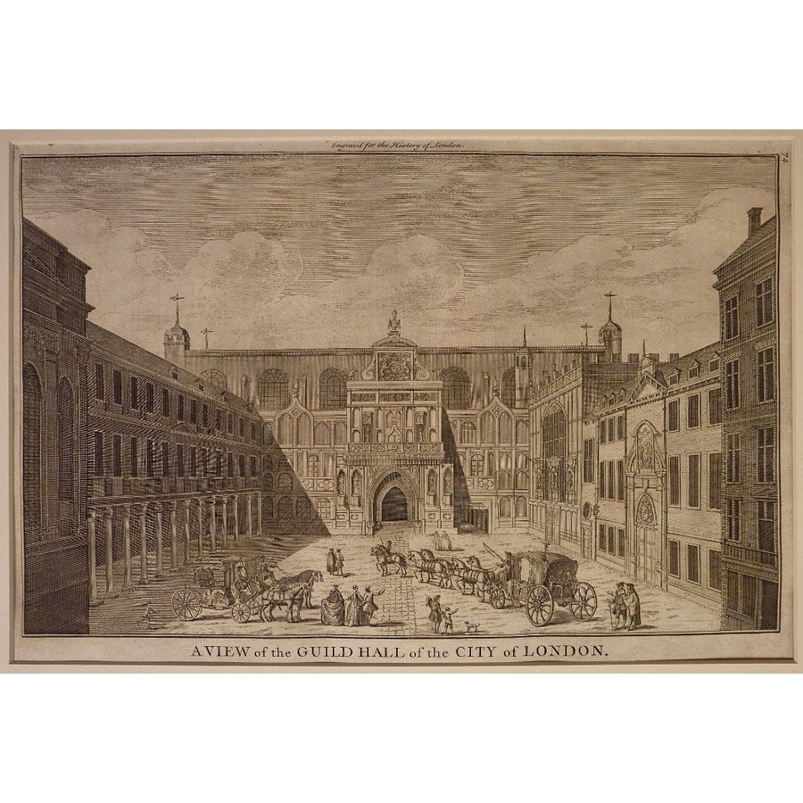 A view of the guildhall of th. | Storey's