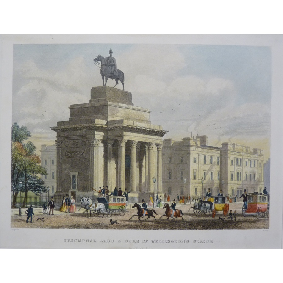 Triumphal Arch & Duke of Well. | Storey's