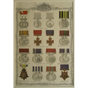 Military & naval medals - 1837-1887 (1)