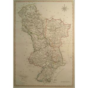 A map of derbyshire