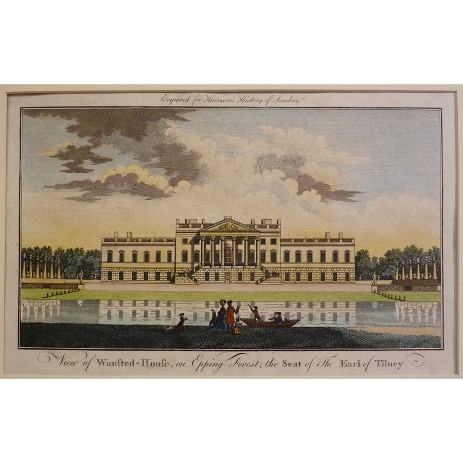 View of wanstead house on epp.   Storey's