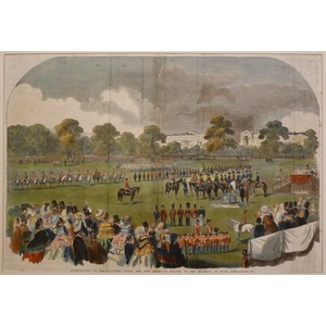 Distribution of the Victoria Cross, the New Order of Valour, by her Majesty, in Hyde Park