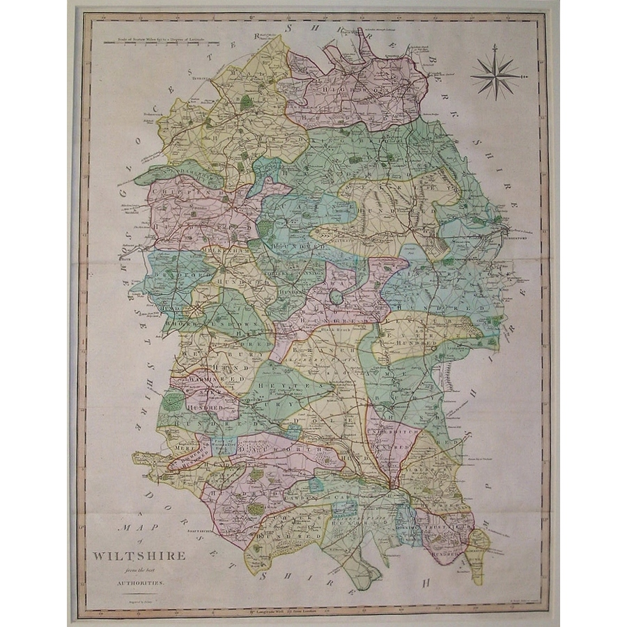 Wiltshire - j. Cary - 1797   Storey's