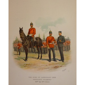 The duke of cambridges own (middlesex regiment) (57th & 77th foot)