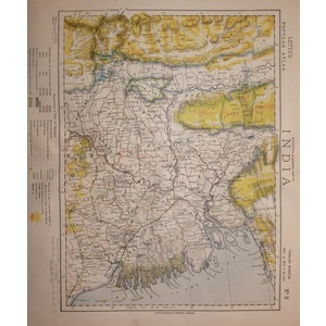 India - calcutta, the ganges, bengal - sheet 8