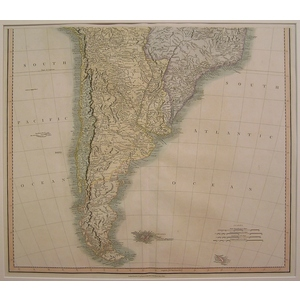 A new map of south america - . | Storey's