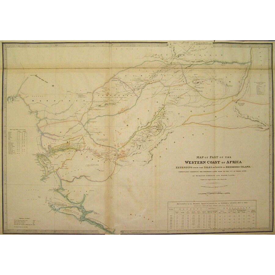 Map of the part of the wester. | Storey's