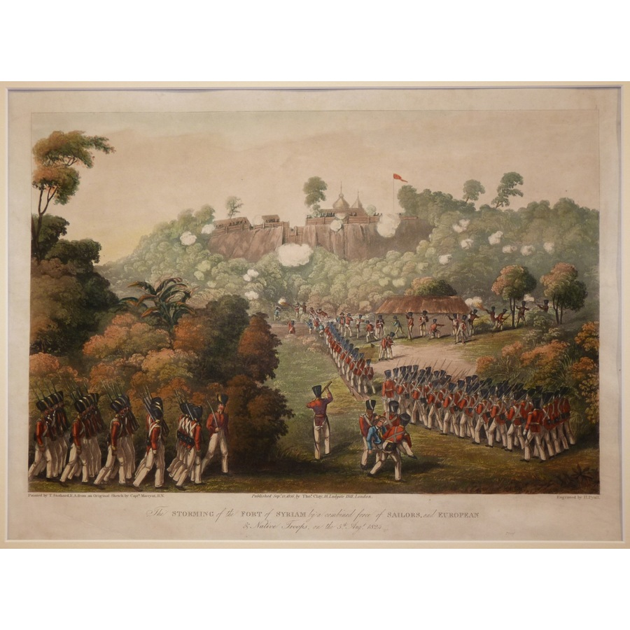 The storming of the fort of s. | Storey's