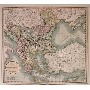A new map of turkey in europe - cary 1806