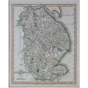 Lincolnshire - cary 1809