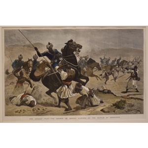 The afghan war - the charge of bengal lancers at the battle of dehouruk