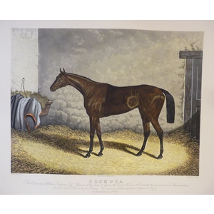 Formosa. Handcoloured copper engraving by E Lambert.  Reissued from the original plate.